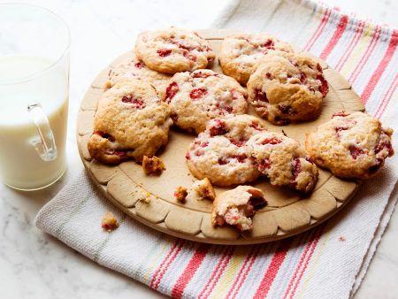 Kochbuch für Erdbeerkekse-Rezepte