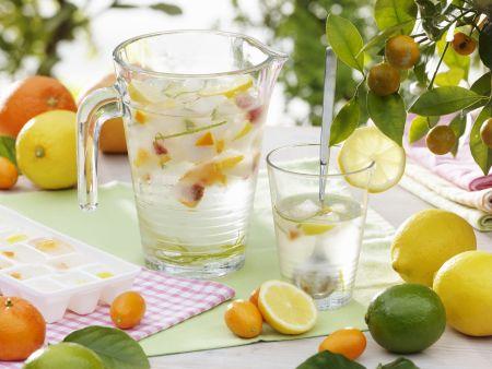 Erfrischendes Zitrus-Wasser