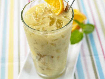 Exotischer Ananas-Shake