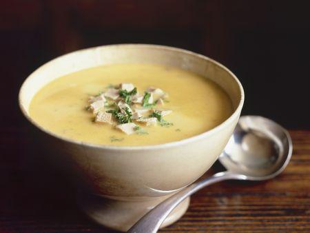 Fasanen-Maroni-Suppe