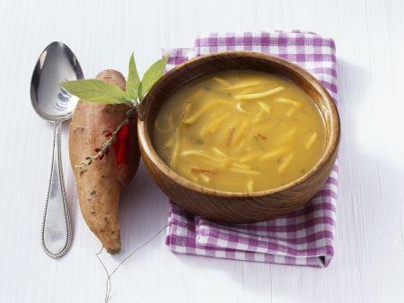 Feurige Apfel-Süßkartoffel-Suppe