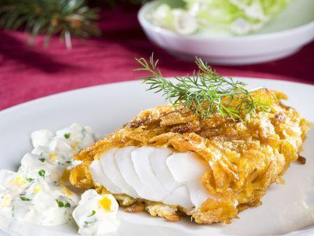 Fisch im Cornflakesmantel mit Remoulade