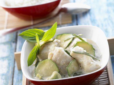 Fisch-Zucchini-Curry