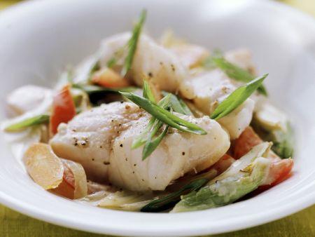 Fischpfanne mit Gemüse