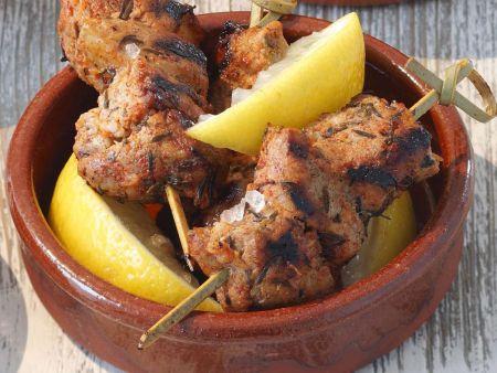Sommergerichte Mit Schweinefleisch : Fleischspieße schwein rezepte eat smarter