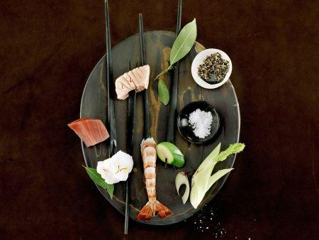 Fondue mit Fisch