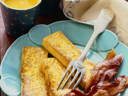 French Toast mit Speck
