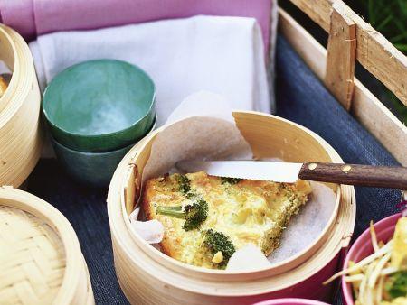 Frittata mit Brokkoli