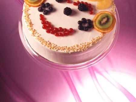 Früchte-Sahne-Torte