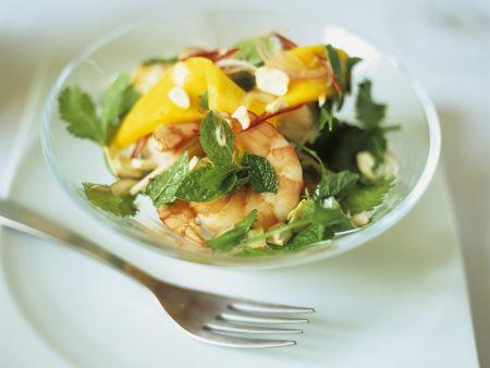 Garnelen-Mango-Salat