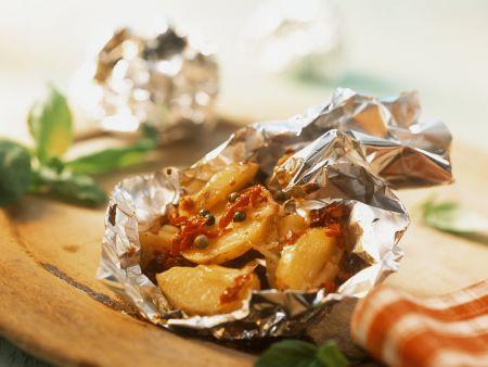 Gebackene Käse-Kartoffeln
