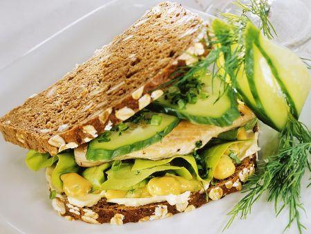Geflügel-Sandwich