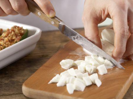 Gefüllte Zucchini: Zubereitungsschritt 8
