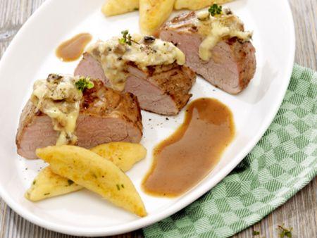 Gefülltes Schweinefilet à la Noord Hollander