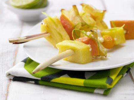 Gegrillte Thai-Früchte