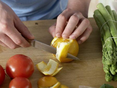 Gegrillter grüner Spargel: Zubereitungsschritt 3