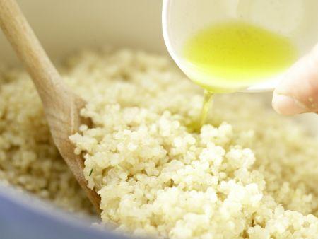 Gekochter Quinoa: Zubereitungsschritt 3