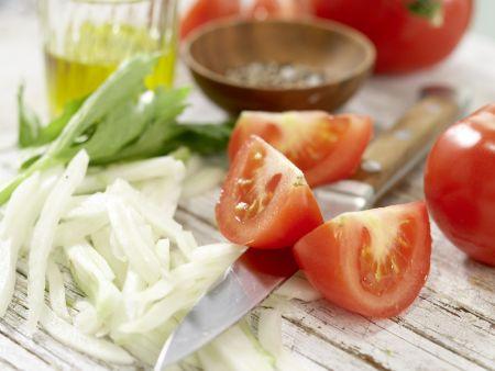 Gemischter Salat: Zubereitungsschritt 2