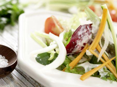 Gemischter Salat: Zubereitungsschritt 7
