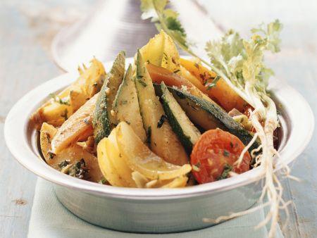 Gemüse aus der Tajine