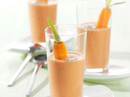 Gemüse-Buttermilch-Shake