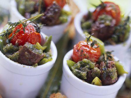 Gemüse-Fleisch-Eintopf auf provenzalische Art