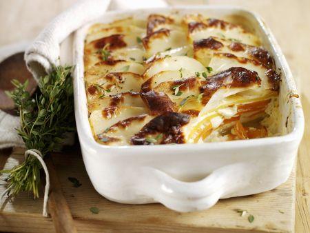 Gemüse-Kartoffel-Auflauf