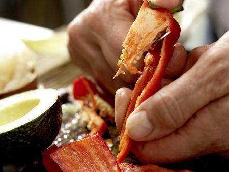 Gemüse-Sushi: Zubereitungsschritt 7