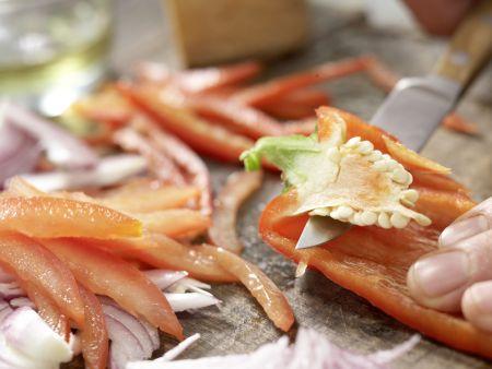 Gemüse-Tortillas: Zubereitungsschritt 1
