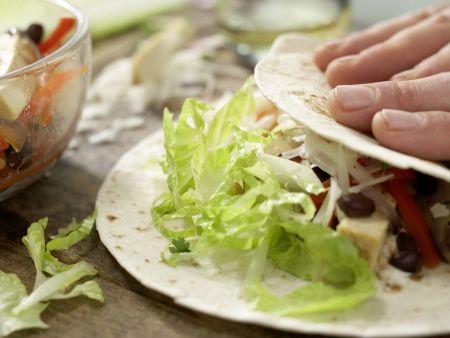 Gemüse-Tortillas: Zubereitungsschritt 10