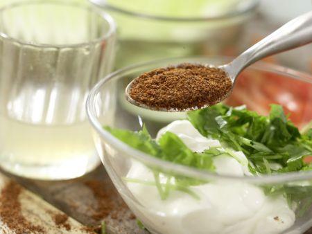 Gemüse-Tortillas: Zubereitungsschritt 3