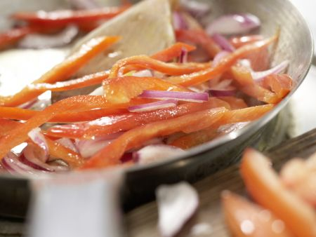 Gemüse-Tortillas: Zubereitungsschritt 6