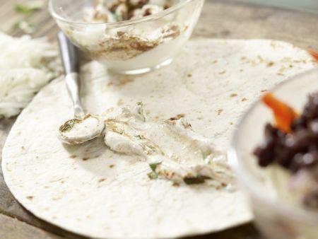 Gemüse-Tortillas: Zubereitungsschritt 8