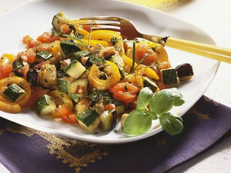 Gemüseeintopf nach provenzalischer Art