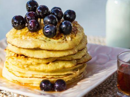 glutenfreie bananen pancakes rezept eat smarter. Black Bedroom Furniture Sets. Home Design Ideas