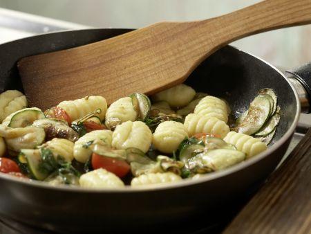 Gnocchi-Zucchini-Pfanne: Zubereitungsschritt 6