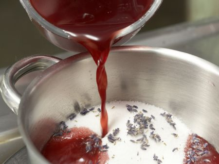 Granatapfel-Gelee: Zubereitungsschritt 3