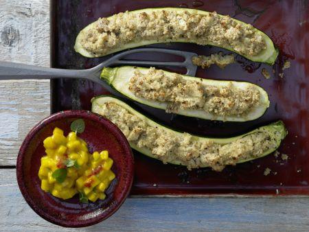 Gratinierte Zucchini