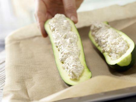 Gratinierte Zucchini: Zubereitungsschritt 4