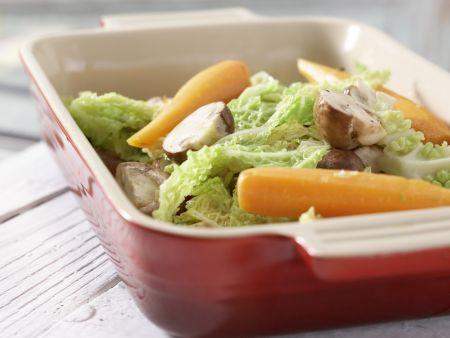 Gratiniertes Gemüse: Zubereitungsschritt 5