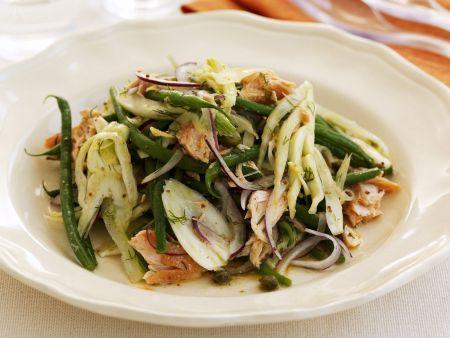 Grüne-Bohnen-Fenchelsalat
