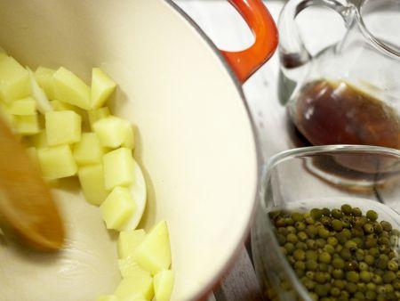 Grüne Pfeffersuppe: Zubereitungsschritt 4