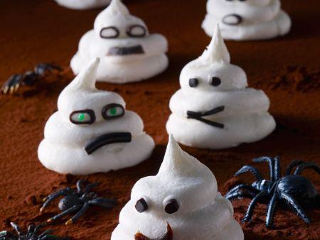 Gruselige Baiser-Geister