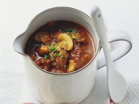 Gulasch-Pilz-Suppe