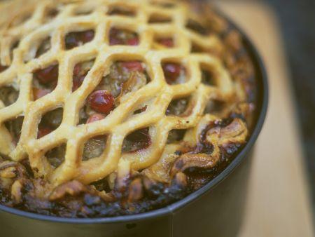 Hackfleisch-Cranberrie-Kuchen
