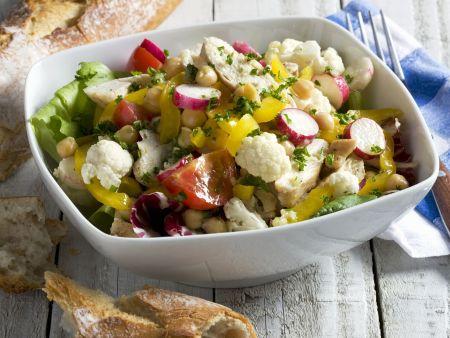h hnchen blumenkohl salat rezept eat smarter. Black Bedroom Furniture Sets. Home Design Ideas