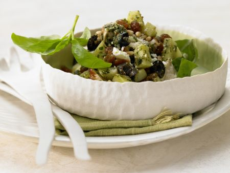 Hähnchen-Kartoffel-Salat