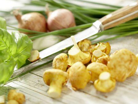 Hähnchenbrust mit Ziegenkäse: Zubereitungsschritt 1