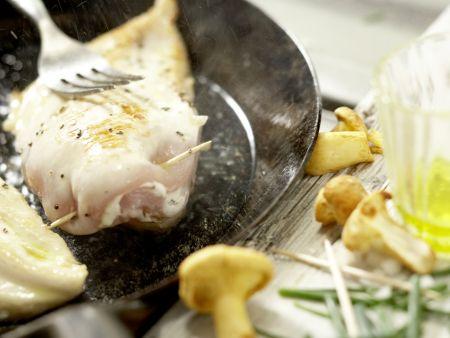 Hähnchenbrust mit Ziegenkäse: Zubereitungsschritt 8