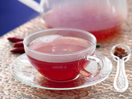 Hagebutten-Chili-Tee